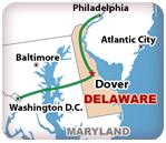Delaware's Capital Region Map