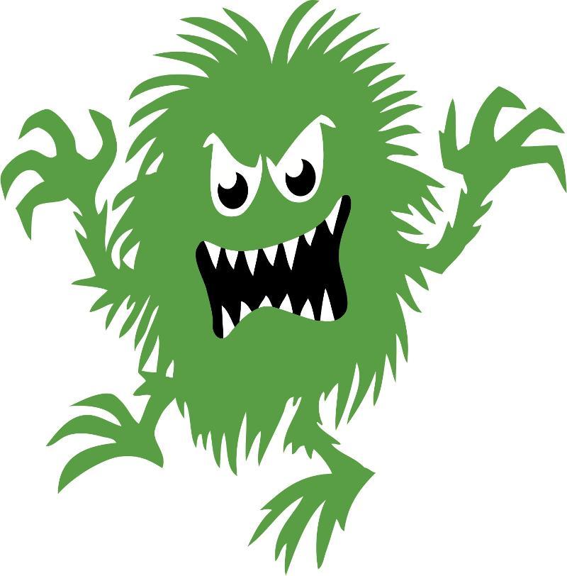 bacteria - monster