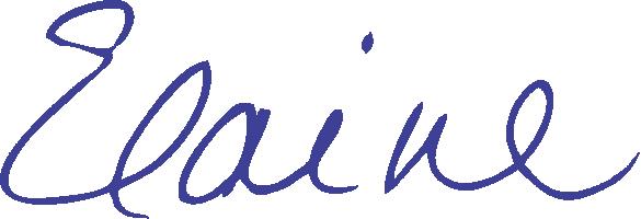 Elaine Clark signature