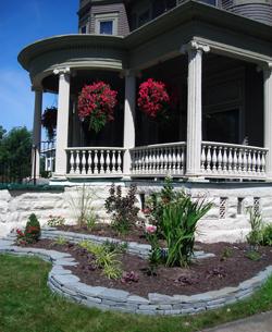 view of right garden 36 N Parade Buffalo