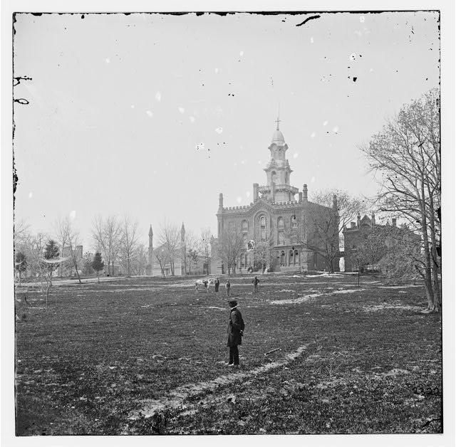 Fairfax Seminary, 1860s