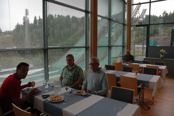 Lunch at the Nordic Center