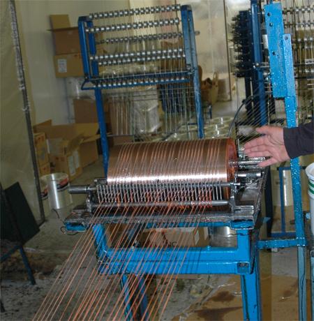 winding filamants