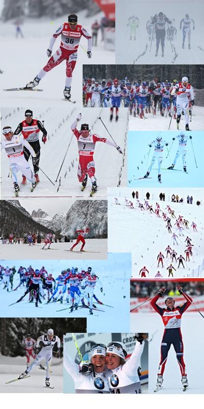 Tour de Ski collage