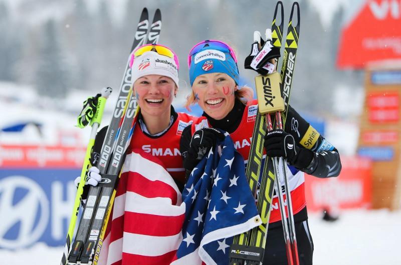 Jessie & Kikkan World Champions