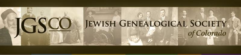 Jewish Genealogical Society of Colorado
