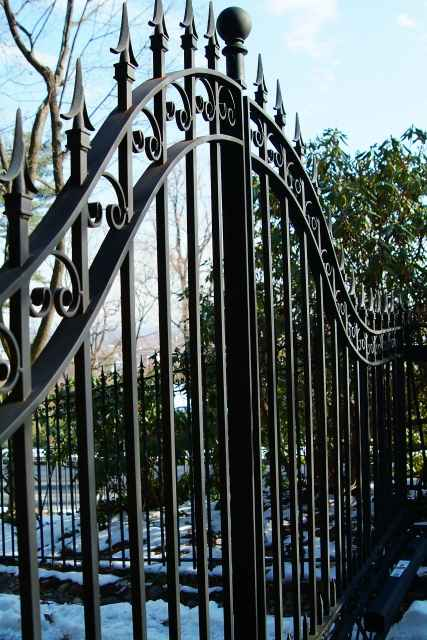 gate closeup