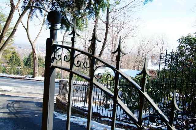closeup of gate