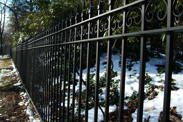 fence closeup