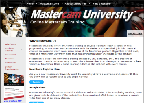 Mastercam Ultra-News: OptiPro's monthly newsletter