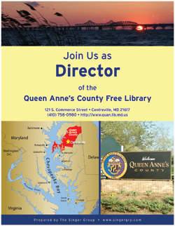 Queen Anne's County (MD) Free Library - Director Position