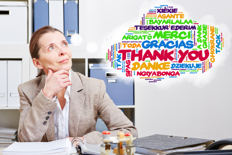The Tangible Value of Gratitude at Work