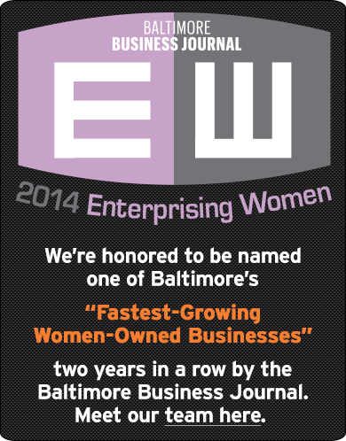 Baltimore Business Journal 2014 Enterprising Women