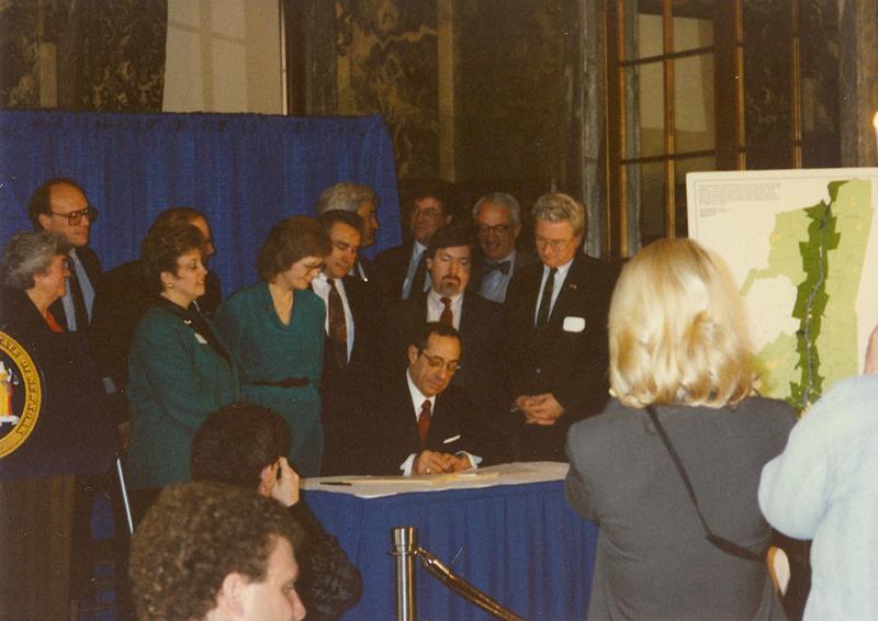 Greenway Act Signing