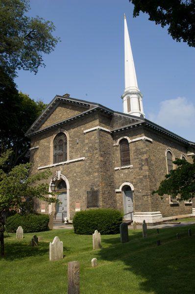 Old Dutch Church Exterior