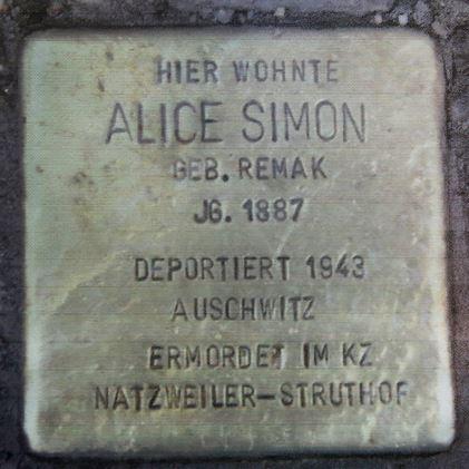 Alice Simon Stopelstein