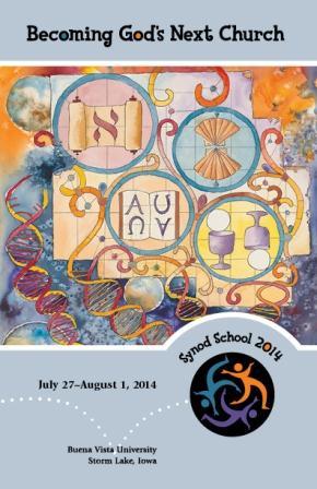 Synod School 2014 catalog cover