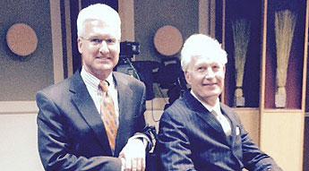 Steven Cox of Roetzel & Andress, LPA, (left) and Greg Bean of Stark & Knoll Co., LPA