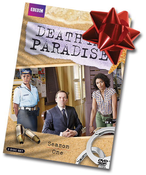 Death in Paradise thank-you gift