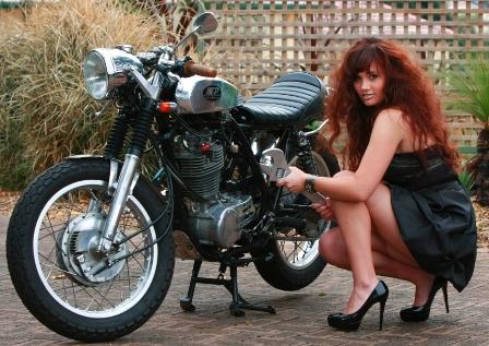 mike motorbike