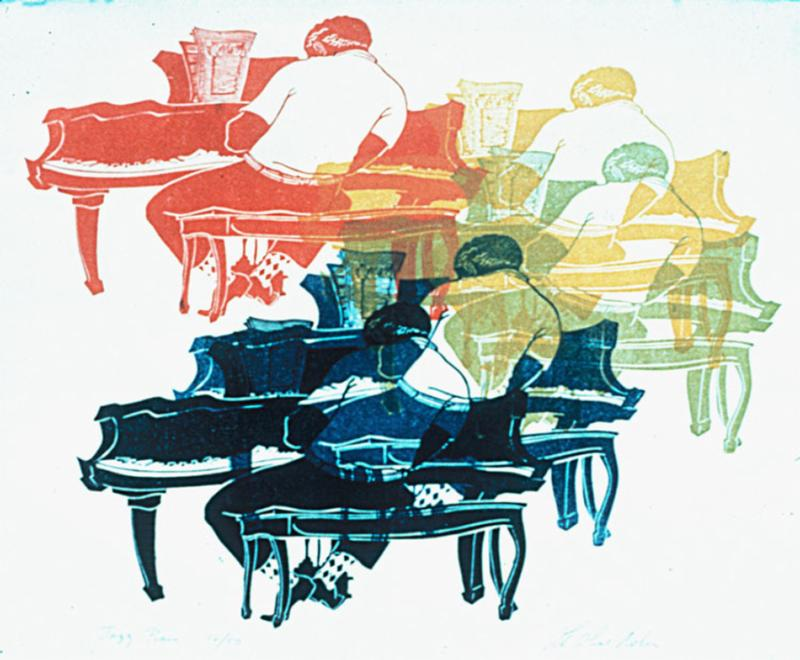 Jazz Piano by Lila Oliver Asher
