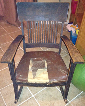 Purnell Chair Before