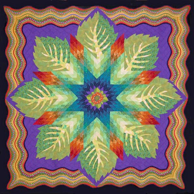 Quilt created by Barbara Hollinger