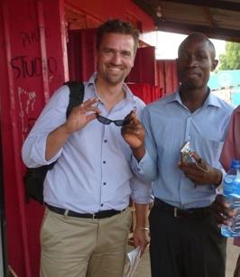 Sheldon Wagner and Denis Wabuyi