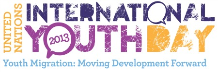 UN Intl Youth Day Logo