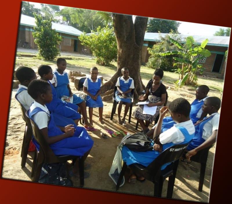 Malawi Youth Savings Club Meeting