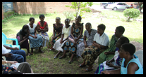 A group meeting in Malawi