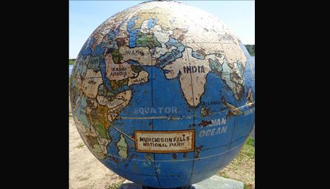 Globe Image - Uganda
