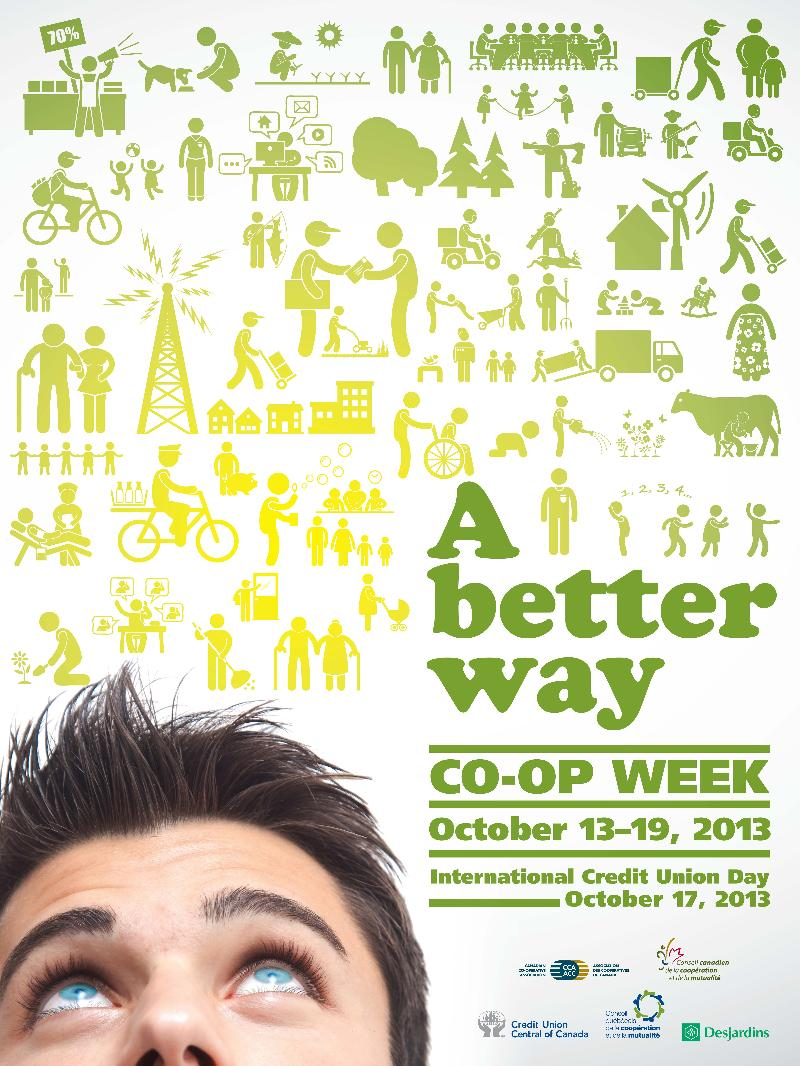 Co-op Week 2013 English Poster