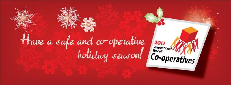 Season's Greetings from CCA 2012