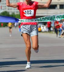 winning the race