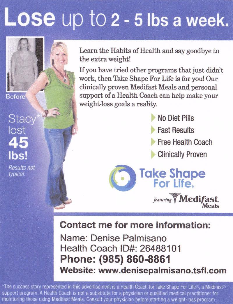 Take Shape For Life