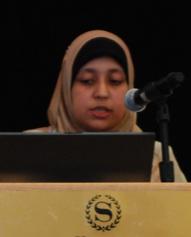 Sara Khorshid at CSID Conference
