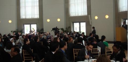 Congressman Keith Ellison Speaking at the CSID Keynote Luncheon