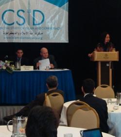 Amina Rasul at CSID Conference
