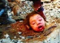 Dead Child in Gaza