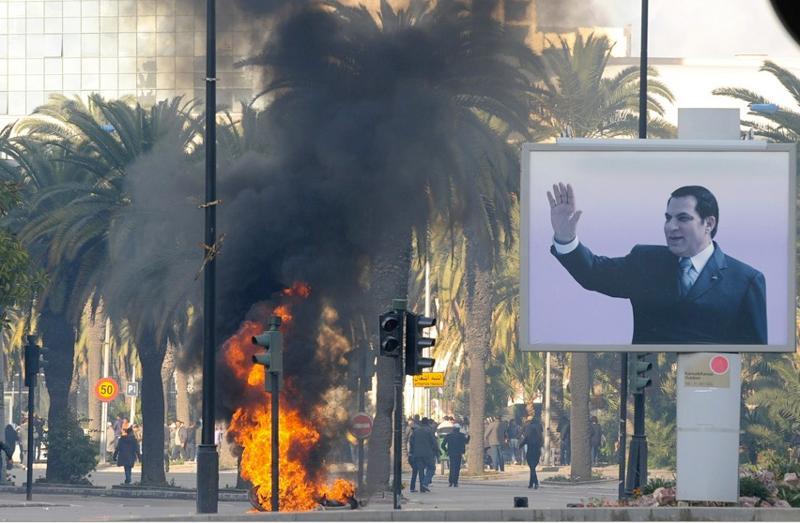 Revolution in Tunisia - 1