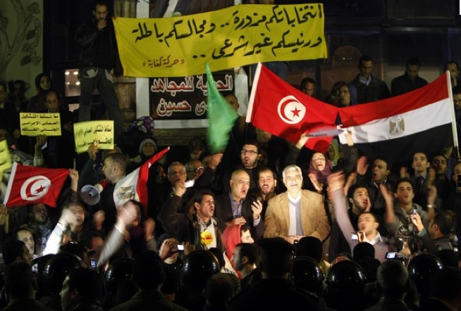 Congratulations to all Tunisians and Egyptians!