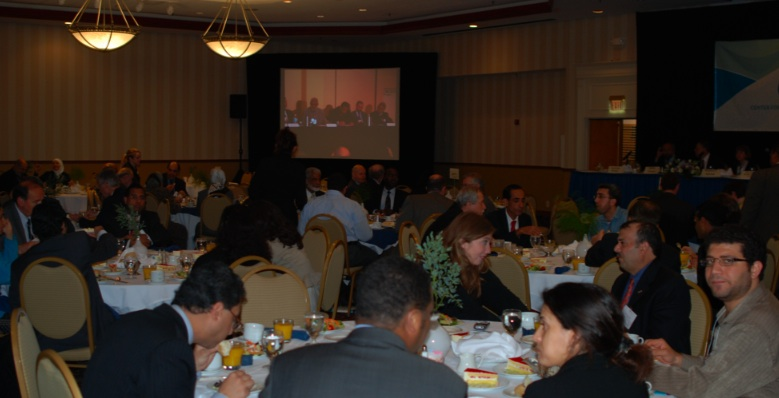 Audience at CSID Banquet Dinner