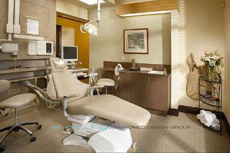 Dental Office Exam Room Operatory- EnviroMed Design Group