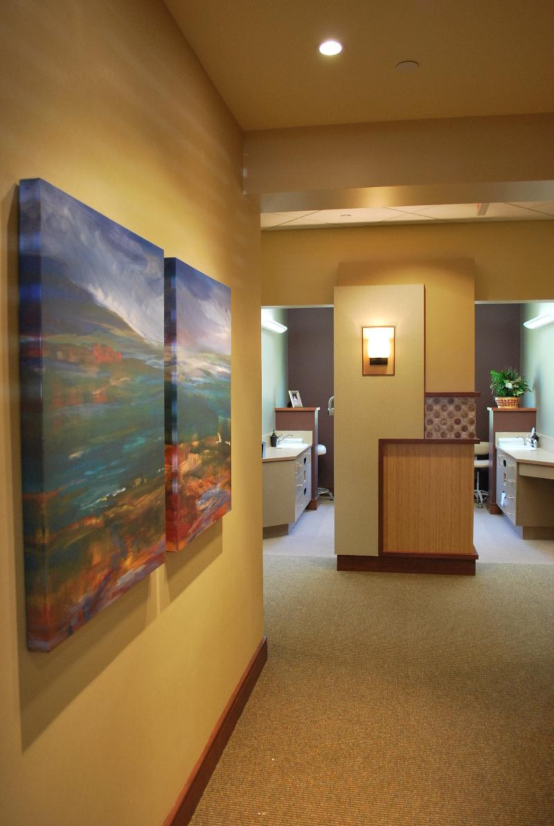 Dental Office Operatory Corridor