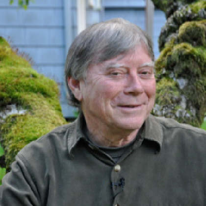 Ward's Blog: Michael Meade in his Apple Tree