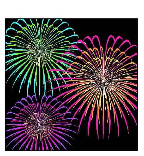 Fireworks Black