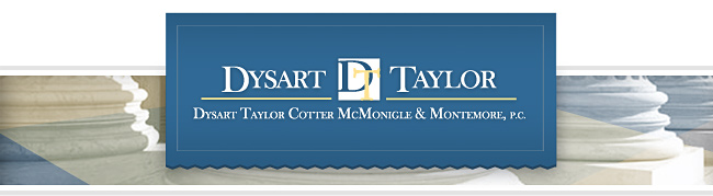 Dysart Taylor Newsletter