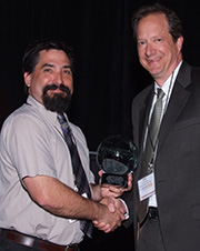 GKCASA Award with Lee Brumitt
