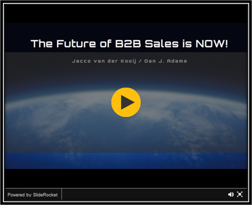 The Future of B2B Sales is Now!